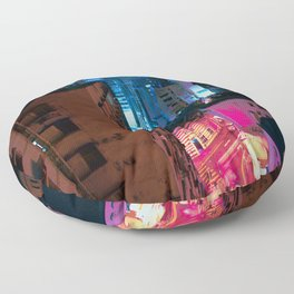 switched on Floor Pillow