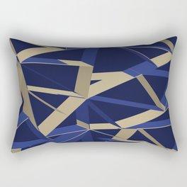 3D Futuristic GEO IX Rectangular Pillow