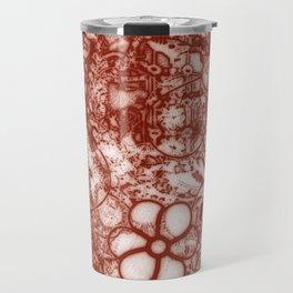 Sanguine Floral Travel Mug