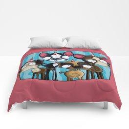 Cute Dog Comforters
