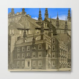 THE OTHER ARCHITECT'S MANSION I Metal Print