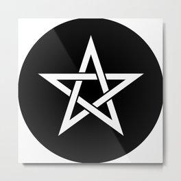 Pentagram Ideology Metal Print