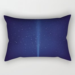 The Blue Sky (Color) Rectangular Pillow