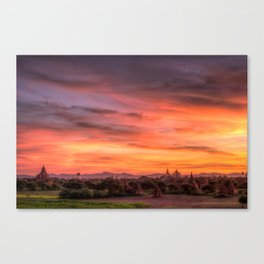Bagan, Myanmar Canvas Print