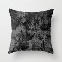 doom Throw Pillows featuring Doom by GLR67