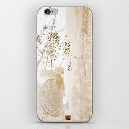 flower and dresses III iPhone Skin