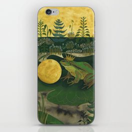 The Frog Prince iPhone Skin