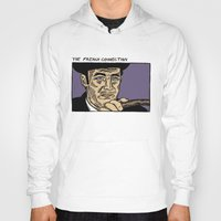 """popeye Hoodies featuring The French Connection: Jimmy """"Popeye"""" Doyle by Mike Hague Prints"""