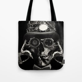 'Steampunk Deceased' Tote Bag