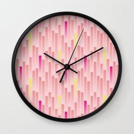 Future Stripes Wall Clock