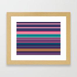 Running and Falling Framed Art Print