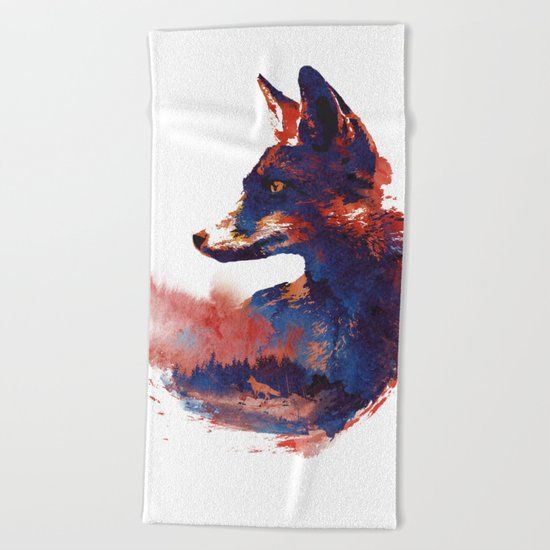 The Future is bright Beach Towel