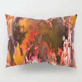 Marshmellow Skies (warm earth tones) Pillow Sham