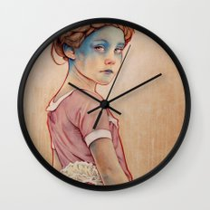 Within White Wall Clock