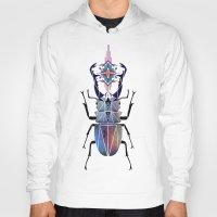 beetle Hoodies featuring beetle by Manoou