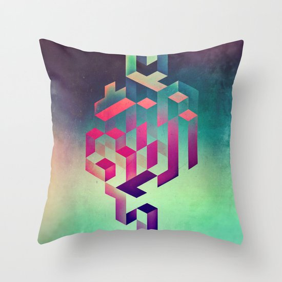 isyhyrtt dyymyndd spyyre Throw Pillow
