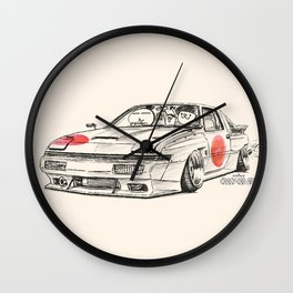 Crazy Car Art 0182 Wall Clock