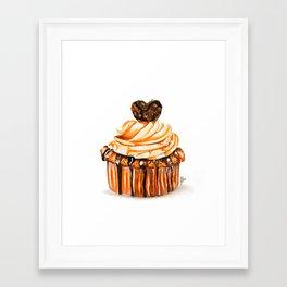 Caramel Delight Framed Art Print