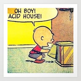 Acid House Art Print