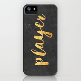 Player iPhone Case