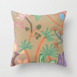Jungle Light Throw Pillow