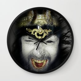 Demon Warrior Wall Clock