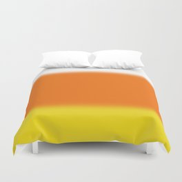 Candy Corn Ombre Duvet Cover