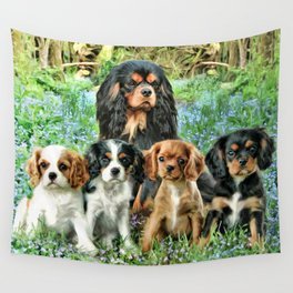 Cavaliers Wall Tapestry