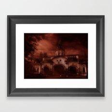 Skyfire Framed Art Print