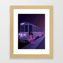 Tram Car Framed Art Print