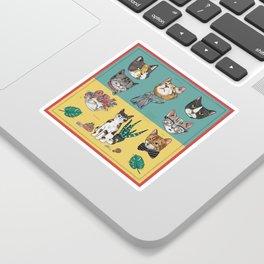 Cats Reunion Sticker