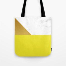 yellow marmor Tote Bag