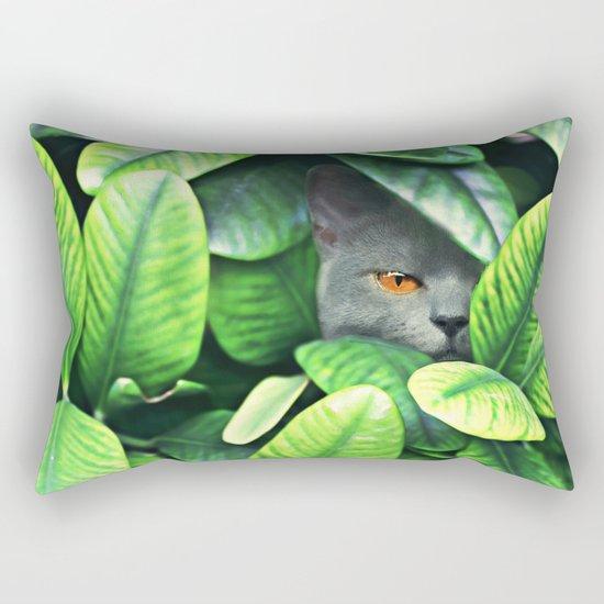 Jungle Cat Rectangular Pillow