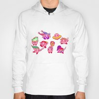 kirby Hoodies featuring Kirby by Spacey Brains