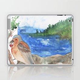 Bird by the beach Laptop & iPad Skin