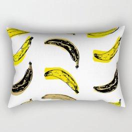 Colored Bananas Rectangular Pillow