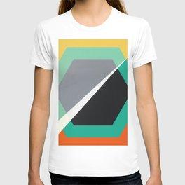 London - retro hexagon T-shirt
