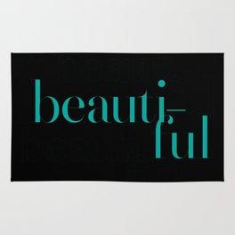 Typography: Didot = Beautiful Rug