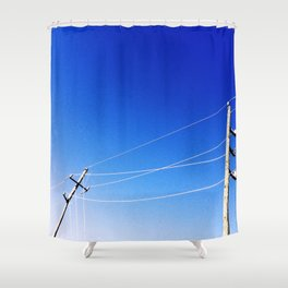 Power Lean Shower Curtain