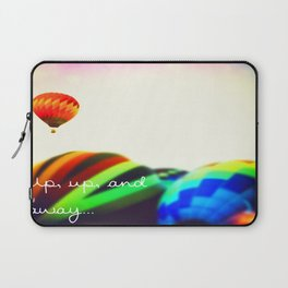 Up Up and Away Laptop Sleeve