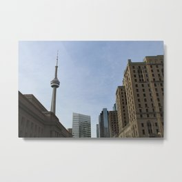 Views of the Six Metal Print