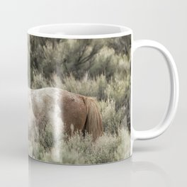South Steens Stallion Alone on the Range Coffee Mug