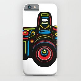 Black Camera iPhone Case