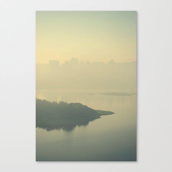 Powai Lake Canvas Print