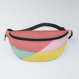 Abstract Pastel Perspective Fanny Pack