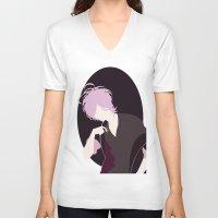 subaru V-neck T-shirts featuring Subaru by Polvo