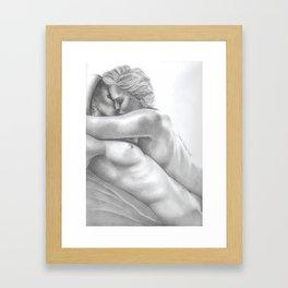 clexa intimacy 9 Framed Art Print