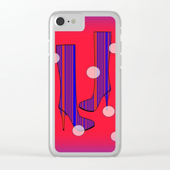 Art Meets Fashion Clear iPhone Case