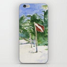 Beach, Tulum, Mexico iPhone Skin