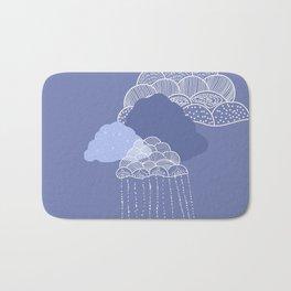 Funny clouds Bath Mat